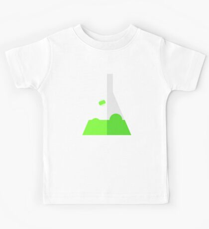Conical Flask Pattern Kids Tee