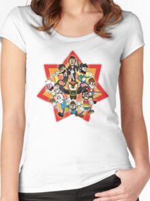 Vanoss and Crew 1930's cartoon style Women's Fitted Scoop T-Shirt