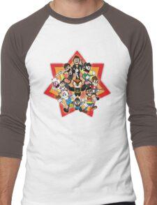 Vanoss and Crew 1930's cartoon style Men's Baseball ¾ T-Shirt