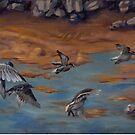 Flock at Heceta by resonanteye