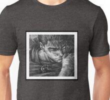 Berserk Guts Blk and Wht Unisex T-Shirt