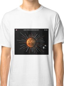 Mars Express Timeline Infographic Classic T-Shirt