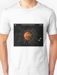 Mars Express Timeline Infographic Unisex T-Shirt