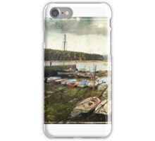 The winter walk at the coast iPhone Case/Skin