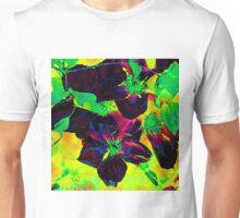 Purple Clematis Unisex T-Shirt
