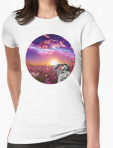 Lost in Womens Fitted T-Shirt