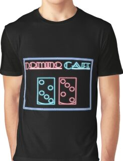 DOMINO CAFE Graphic T-Shirt