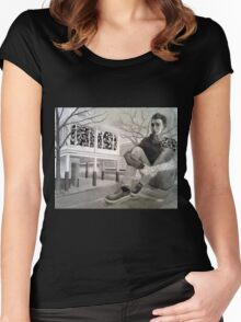 Fractured Women's Fitted Scoop T-Shirt