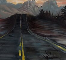 Northern AZ, End of the Road by resonanteye