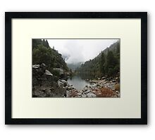 Feather River Canyon  Framed Print