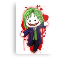 Cute Joker Chibi Metal Print
