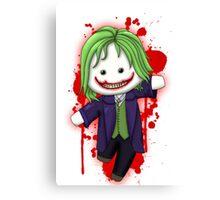 Cute Joker Chibi Canvas Print