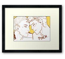 Pynch- The Raven Boys Framed Print