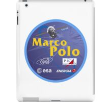 ESA's Marco Polo Mission to the ISS Logo iPad Case/Skin