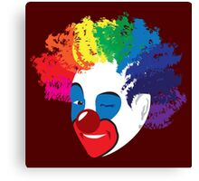 Clowns: Do the Carpets Match the Drapes Canvas Print