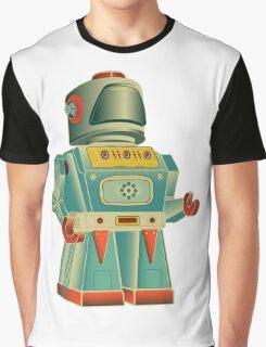 vintage robot Graphic T-Shirt