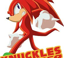 Knuckles the Echidna Power by zaukhes