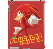 Knuckles the Echidna Power iPad Case/Skin