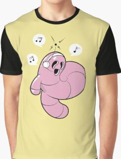 Worms Of Music Graphic T-Shirt