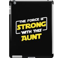 Force Aunt iPad Case/Skin