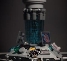 Wall-e in the TARDIS by ajk92