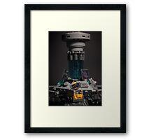 Wall-e in the TARDIS Framed Print