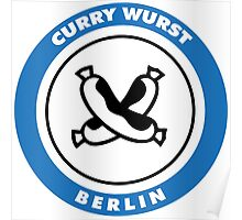 Berlin Currywurst Poster