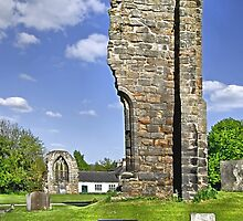 West Wall Remains, Ticknall Old Church by Rod Johnson