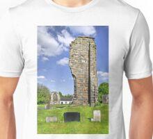 West Wall Remains, Ticknall Old Church Unisex T-Shirt