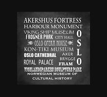 Oslo Famous Landmarks Unisex T-Shirt