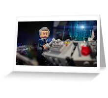 Doctor in the Tardis Greeting Card