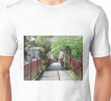 Jubilee Bridge, Matlock Bath Unisex T-Shirt