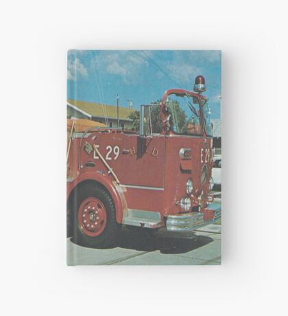 Firetruck Hardcover Journal