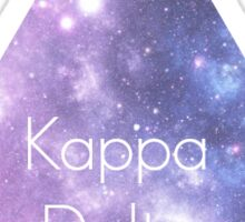 Kappa Delta Galaxy Sticker