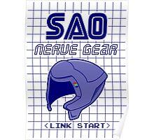 Nerve gear Poster