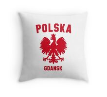GDANSK Throw Pillow