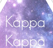 Kappa Kappa Gamma Galaxy Sticker