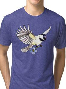 Chickadee  Tri-blend T-Shirt