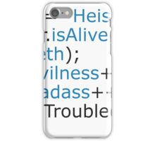 Breaking bad - code iPhone Case/Skin