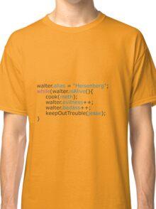 Breaking bad - code Classic T-Shirt