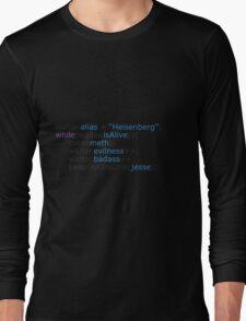 Breaking bad - code Long Sleeve T-Shirt