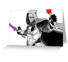 Darth Revan Greeting Card