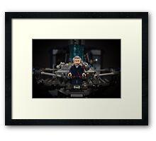 Peter Capaldi Framed Print