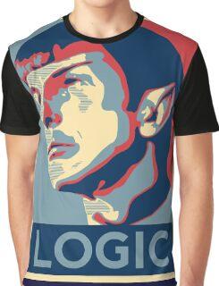 "Spock ""Logic"" Poster Graphic T-Shirt"