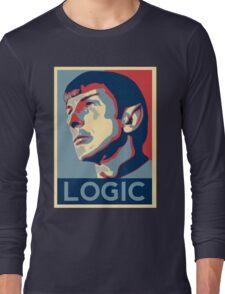 "Spock ""Logic"" Poster Long Sleeve T-Shirt"