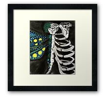 The Bones of the Dragonfly  Framed Print