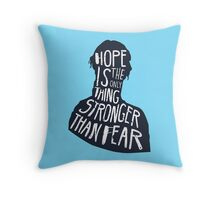 Hunger Games Quote Throw Pillow