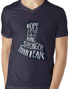 Hunger Games Quote Mens V-Neck T-Shirt