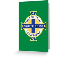Northern Ireland Soccer Greeting Card