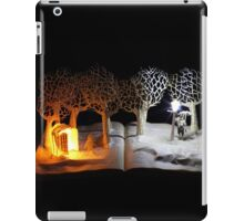 The Lion, The Witch and the Wardrobe Narnia book sculpture iPad Case/Skin